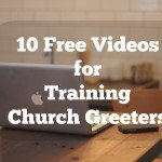 Free Material for Church Greeter Training