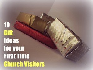 10 gift ideas for church visitor welcome packets or folders 10 church visitor gift ideas negle Gallery