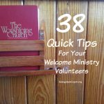 38 Resource Links for Your Welcome Ministry