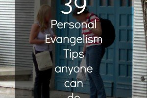 39 Days of Personal Evangelism–Tweetable List