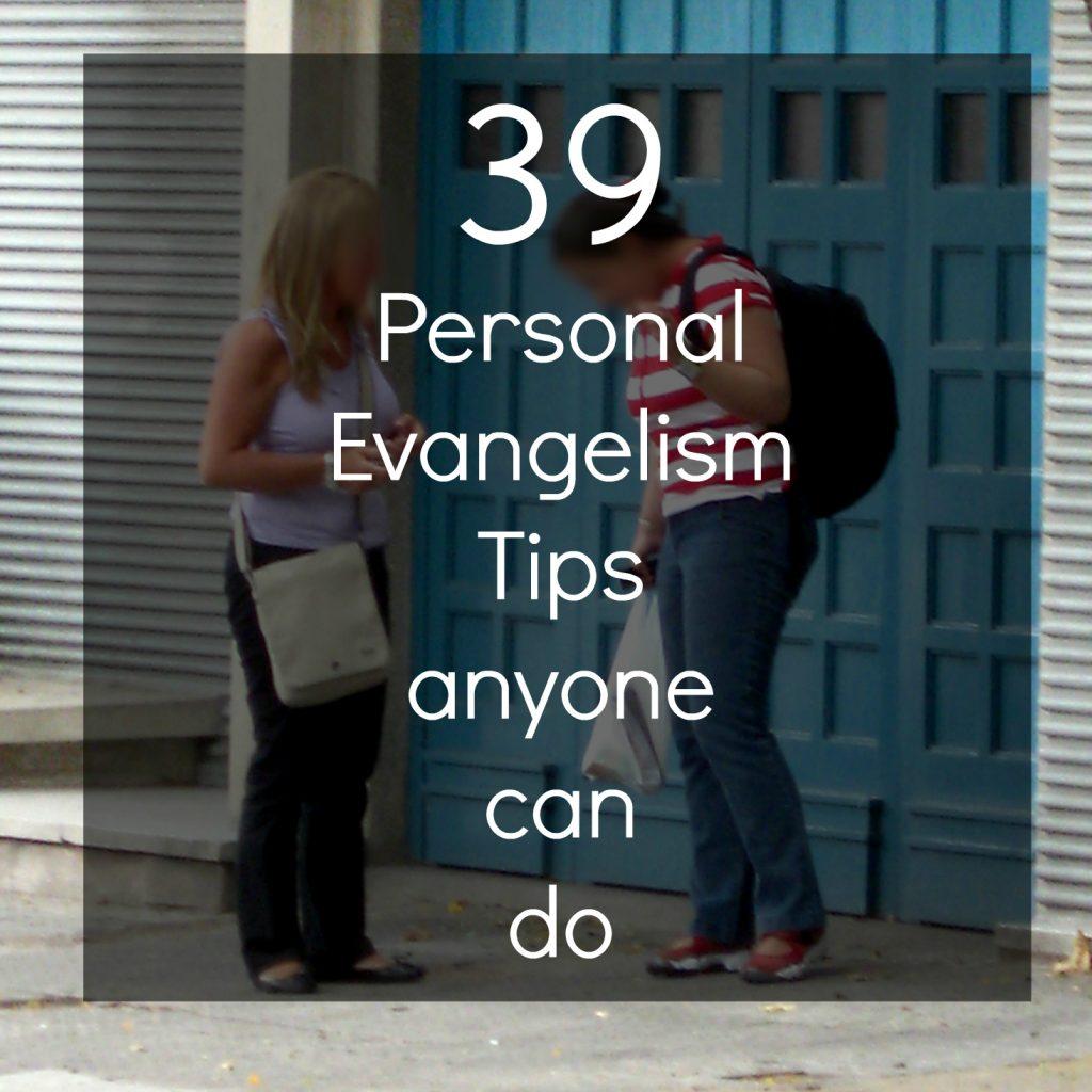 39 Days Of Personal Evangelism Tweetable List