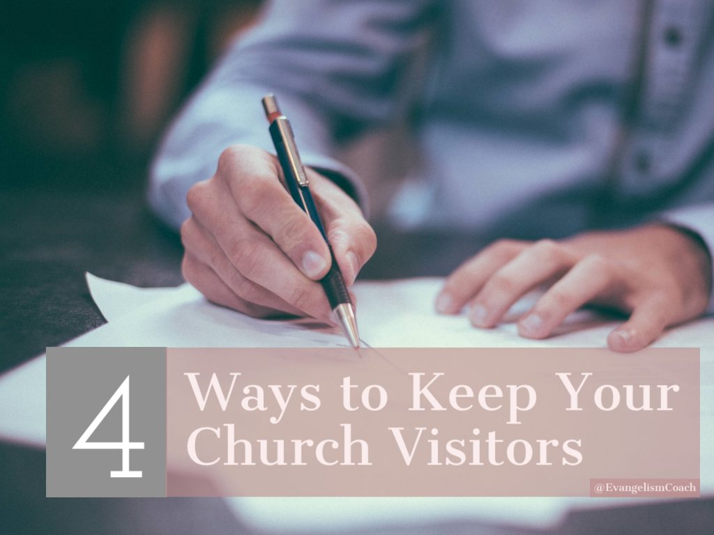 4 Ways to Keep Your Church Visitors