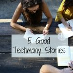5 ways to tell your stories of God's activity