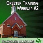 Greeter Training Webinar #2 DVD Version