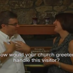 Church Greeter Case Study: An Unexpected Visitor