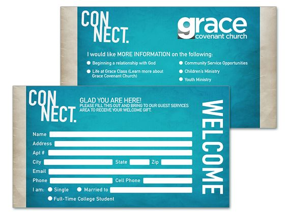 8 church connection card templates church connection card template 8 thecheapjerseys Images