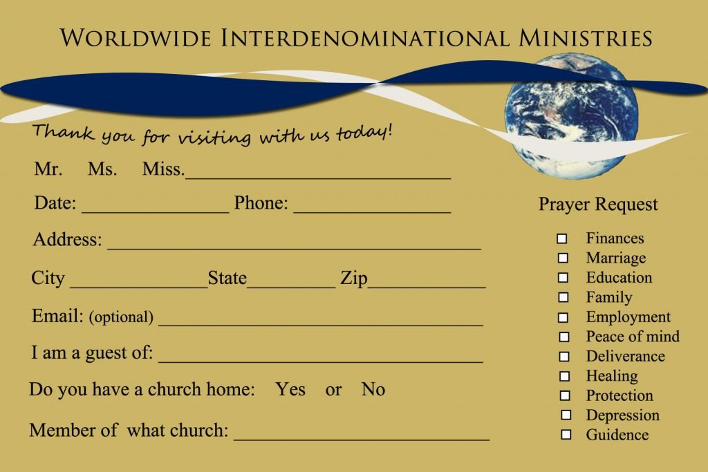 8 church connection card templates church connection card template 4 thecheapjerseys Images
