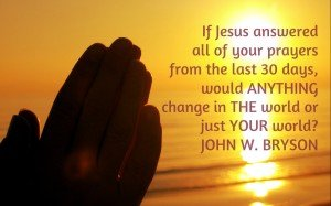 Quote on Prayer
