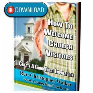 How to Welcome Church Visitors Ebook
