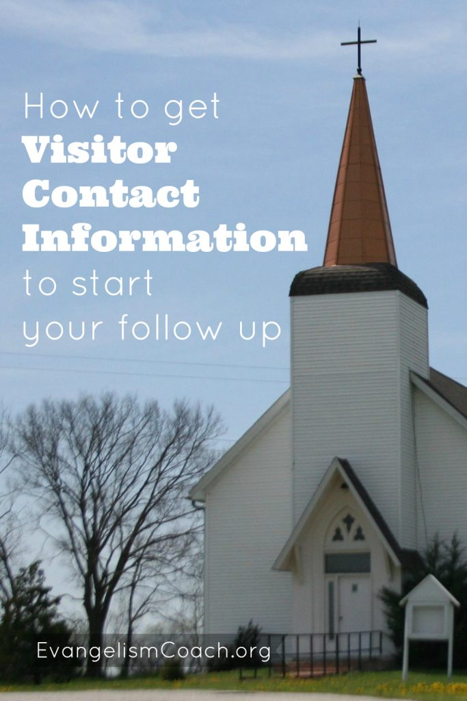 Getting Visitor Contact information is the first step towards your visitor followup, yet many churches fail at it.  Listen to this expert on the subject describe different ways and what is the best way