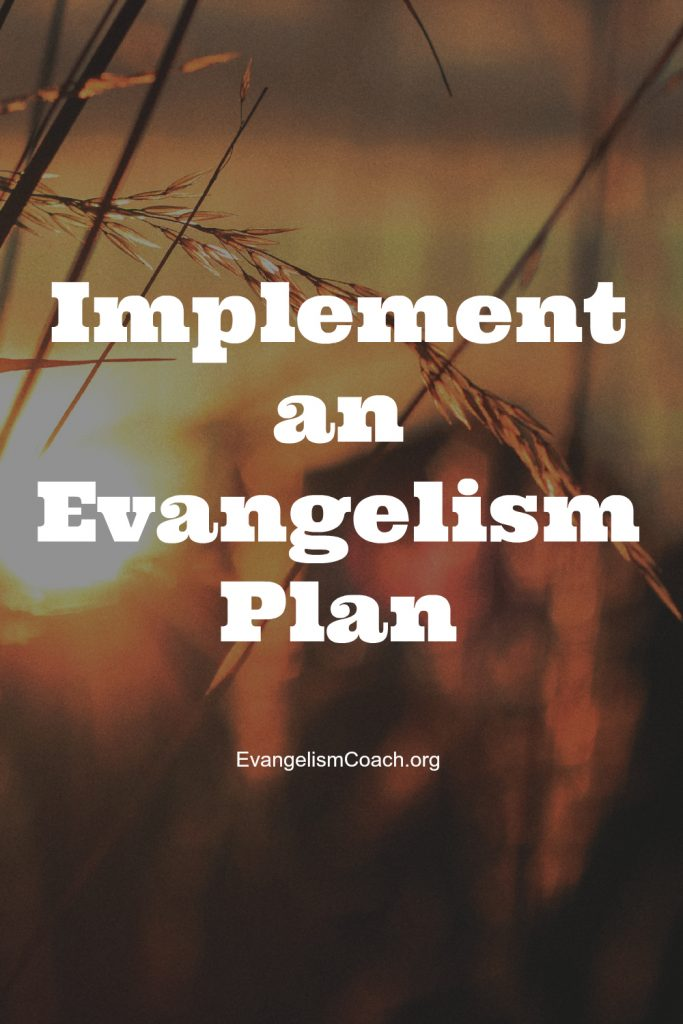 4 keys on how to implement a plan for evangelism in your church