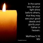 Salt and Light in a Very Dark Place