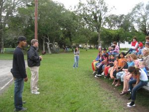 Open Air preaching in Panama