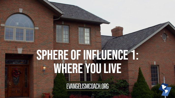 Sphere of Influence 1: Where you live - House