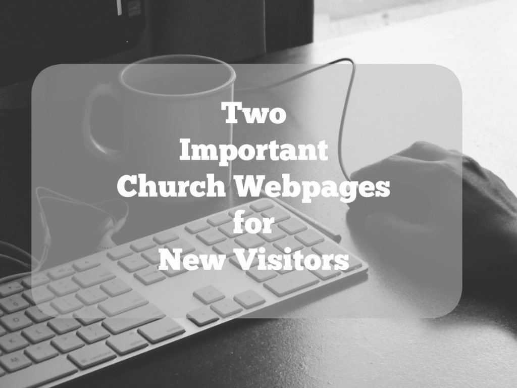 TwoImportantChurchWebsitePages