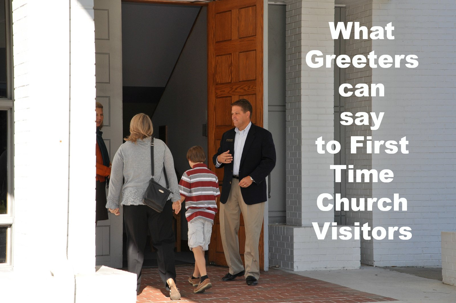 To say to greet church visitors what to say to greet church visitors kristyandbryce Image collections