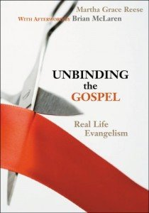 Martha Grace Reese Unbinding the Gospel Cover