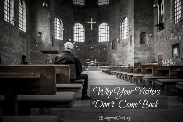 8 Reasons Why Your Church Visitor does not want to return to your church