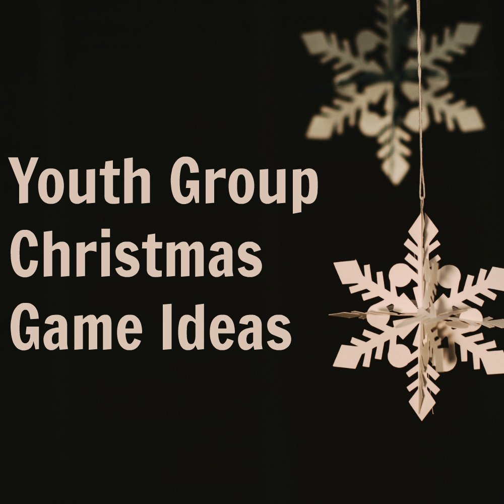 Group Games For Christmas Party: Creative Youth Group Games For Christmas