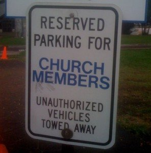 Rejecting Church Visitors