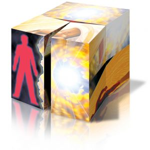 The Evangecube folds in one direction and each stage offers an discussion point about the gospel of Jesus Christ