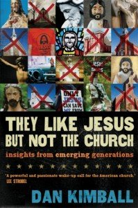 They Like Jesus but not the church cover