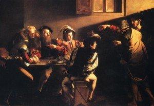 Calling of saint matthew